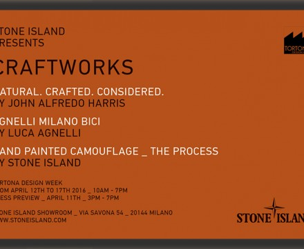 STONE ISLAND PRESENTS CRAFTWORKS