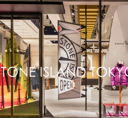 STONE ISLAND TOKYO  FLAGSHIP STORE OPEN
